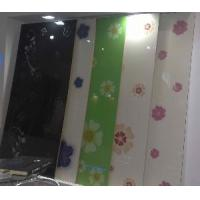 Cheap High Gloss MDF With Designs for Kitchen Cabinet Doors for sale