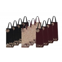 Cheap Brown Biodegradable Wine Bottle Paper Bags for sale