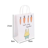 Cheap Gravure Printing PMS Branded Paper Bag for sale