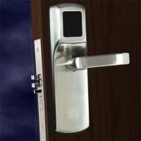 China FCC Hotel Electronic Door Locks , Electronic Front Door Lock Stainless Steel Material on sale