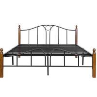 Cheap Easy Install Queen Size Iron Bed Frame , 18 Inch Metal Bed Frame Queen for sale
