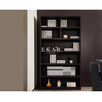 Cheap Four Shelf Wood High Bookcase Cabinet For Living Room for sale