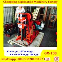 Cheap China Made GX-100 Mini Geotechnical Drilling Rig for Soil Investigation withIN 100 m Depth with SPT equipment for sale