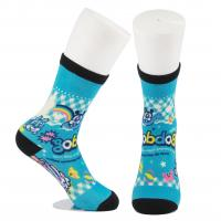 Cheap Breathable Eco - Friendly 3D Printed Socks For Adults Custom Made Size for sale