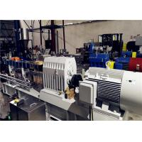 Twin Screw Extruder Machine For Masterbatch Production 400-500kg/Hr Output