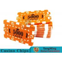 Cheap Custom Design Cheap Casino Poker Chips , ABS Plastic Numbered Poker Chips  for sale