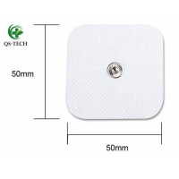 Cheap Pulse TENS and EMS Massage Device Sticky Gel Tens Unit Reusable Physical Therapy Electrode Pad for sale