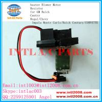 Chevy Impala Blower Motor Resistor: Auto Ac Heater Resistor Rheostat For GM Buick Centry Regal