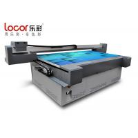 China Wide Format Flatbed Printer For WoodBoard / Buckle Plate USB 2.0 Interface on sale