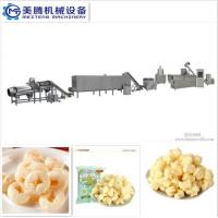 Cheap Puff Corn Snack Production Line Puffed core filling food machine Food snack extruder machine for sale