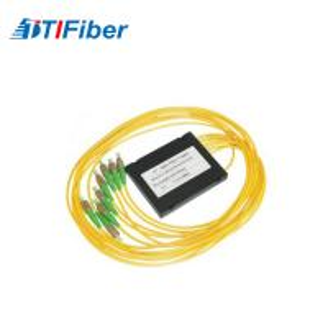 Buy cheap Customized yellow FTB ABS Fiber splitter ABS box apc fiber optic pigtail from wholesalers