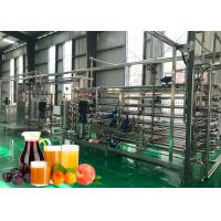 Cheap 20 T / Hour Fruit Juice Processing Machines High Juice Yield For A Variety Fruits for sale