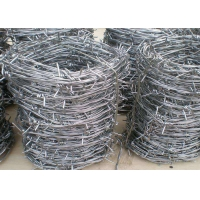 Cheap PVC Coated Hot Dipped Galvanized Barbed Wires for sale