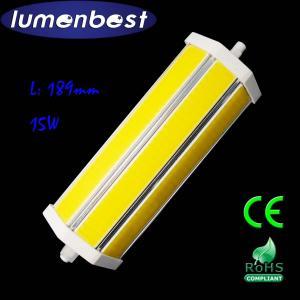 Cheap R7S LED R7S BULB COB Aluminum+Plastic 15W 189mm(189mm*54mm) for sale