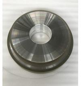 Cheap Abrasive Grit Resin Bonded Diamond Grinding Wheels Flat CBN Hole 127mm Width 10mm for sale
