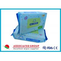 Buy cheap Soft Baby Dry Disposable Wipes For Cleaning Body & Hand 60pcs / Bag from wholesalers