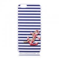 Cheap Blue Strip Anchor Pattern 4.7 inch Phone Case Back Cover ,Wholesale Price for sale