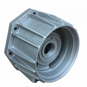 Cheap OEM Sand Casting Aluminum Parts , Custom Cnc Aluminum Parts Silver Color for sale