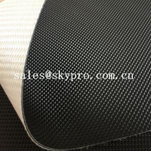Cheap Fitness Treadmill PVC Conveyor Belt High Performance Industrial Golf Pattern Surface for sale