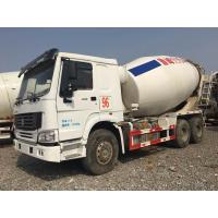Cheap HOWO Brand Used Concrete Mixer Truck 340hp Rated Power For Construction for sale