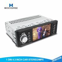 Cheap Universal Single Din Multimedia Player Mp5 Video Player Mp4 Mp3 Radio With Bluetooth USB AUX for sale