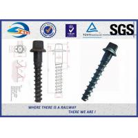 Customized Standard 35# Railroad Screw For Fastening Rail Manufactures