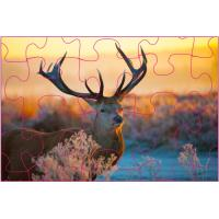 Cheap Promotion 3D Lenticular Printing Jigsaw Puzzles/ Custom 3D Lenticular PET Puzzles for sale