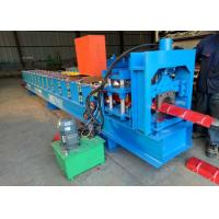 Cheap Colored Glaze Steel Ridge Cap Forming Machine Aluminum 15 Rows Stand for sale