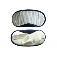 Buy cheap  customized Sleeping Eye Shades White Waffle With TC Fabric Nose Pad from wholesalers