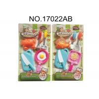 Cheap Harmless Childrens Toy Kitchen Sets for Pretend Play Cooking 10 Pcs 2 Assorted for sale