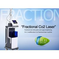 Cheap 10600nm Co2 Fractional Laser Treatment Machine For Skin Resurfacing / Acne Scars for sale