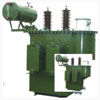 Cheap Oil Immersed Transformer Reactor 35 KV - Class HV / LV Two Winding Step Up for sale