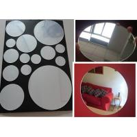 Buy cheap 3mm Round Eco-Friendly Mirror Acrylic Sheet By Laser Cutting For Indoor Home from wholesalers