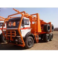 Cheap 380hp Beiben log truck 6x6 for sale