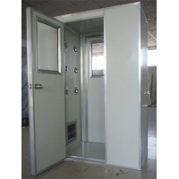 Cheap Cold Rolled SUS304 Interlock 1.6Kw Air Shower Room for sale