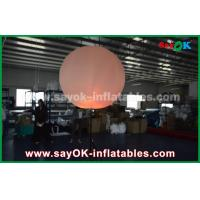 Buy cheap Nylon Cloth Inflatable Lighting Decoration / Halogen Or Led Light Up Balloons from wholesalers