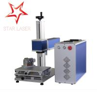 China Mopa Color Industrial Laser Marking Machine Compact Instrument Panel Printer on sale