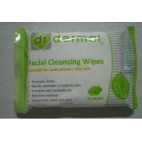 China Women Facial Disposable Wet Wipes for acne prone or oily skin on sale