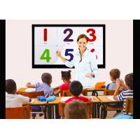 Custom 86 Inch Interactive Screens For Education Intelligent Screen Protection Function