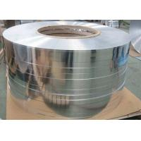Cheap Thickness 0.05 - 0.6mm Hot Rolling Aluminium Strip / Tape For Cable Transformer for sale