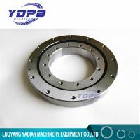 Cheap VU140179  turntable bearing 124.5x234x35mm Slewing Ring Bearing Four point contact ball bearing Internal gear teeth for sale