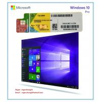 Cheap Windows Product Key Sticker Win 10 Pro OEM COA X20 Online Activate 64bit Windows 10 Professional for sale