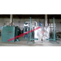Cheap ISO certified engine oil recycling machine,car motor oil  vacuum distillation system, black oil decolorization purifier for sale