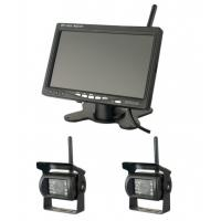 Cheap 400cd/m2 Brightness Vehicle Reversing Systems 1024x600 Wireless Monitor Camera for sale