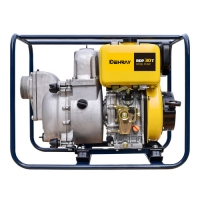 Cheap 3 Inch 4KW 675x445x575mm Small Gas Powered Water Pumps for sale