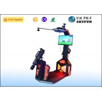 Game Center Immersive VR Shooting Simulator /  9D Shooting Machine With Space Location