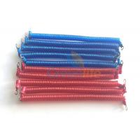 Buy cheap Fashionable Blue / Red Engineering Machines Spiral Tethers Stretch 1M With 2 from wholesalers