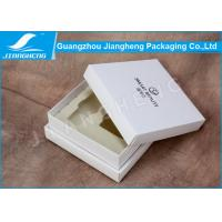 Cheap Handmade Luxury Cosmetic Packaging Boxes / Storage Box With White EVA Insert for sale