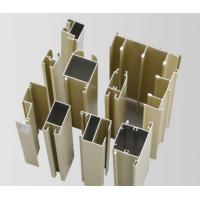 Cheap Powder Painted / Anodized Aluminum Extrusion Profiles For Side Hung Doors for sale