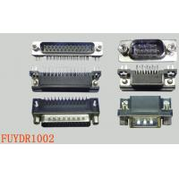Buy cheap 9 Pin Right Angle Male D-sub Connectors With Z Bracket Board Lock For PCB Board from wholesalers